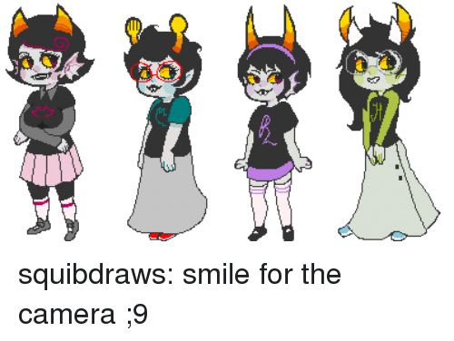 Target, Tumblr, and Blog: squibdraws:  smile for the camera ;9