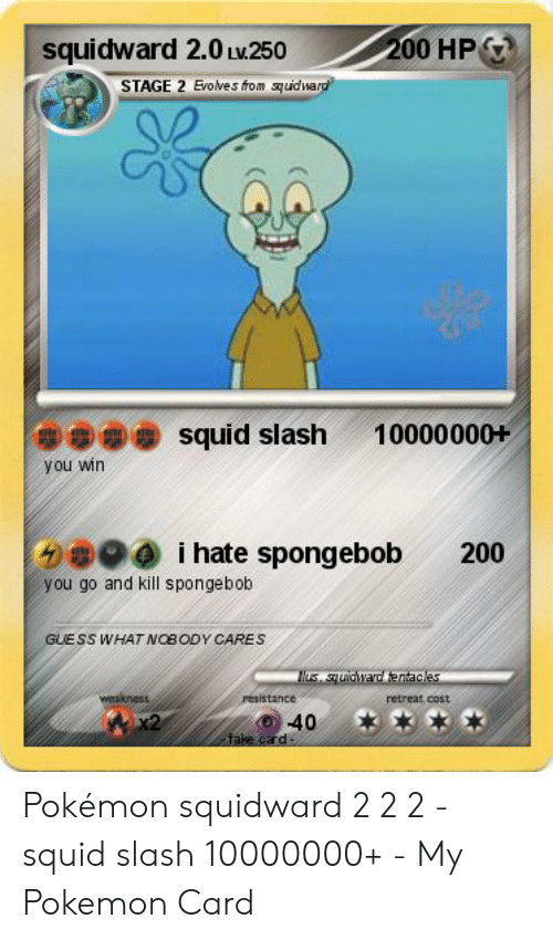 Squidward 20 Lw250 200 HP STAGE 2 Evolves From Quidward 窃49