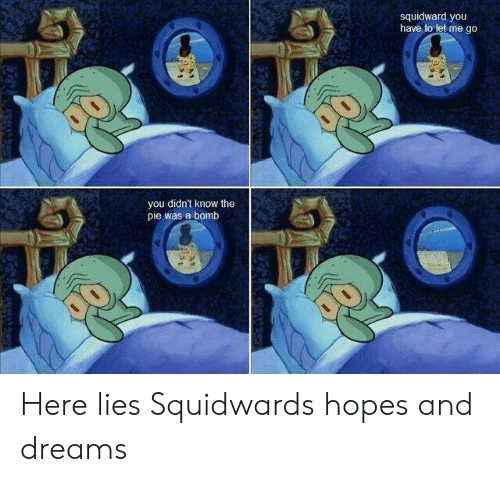 Squidward Alarm Clock Meme Template