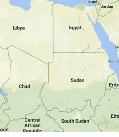 Best Memes About South Sudan South Sudan Memes - Map of egypt libya and sudan