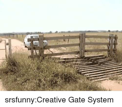 Tumblr, Blog, and Http: srsfunny:Creative Gate System