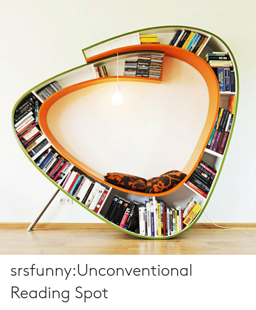 Tumblr, Blog, and Http: srsfunny:Unconventional Reading Spot