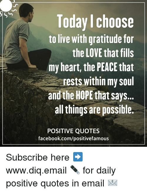 Sso Today Choose To Live With Gratitude For The Love That Fills Amy