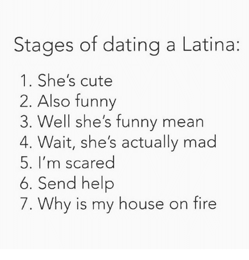 Dating stages