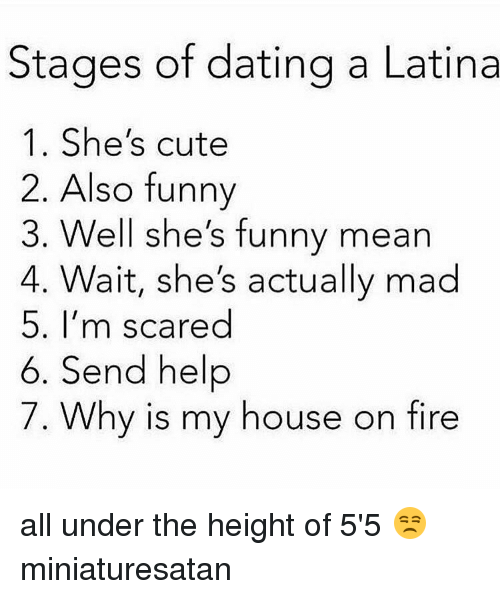 All the stages of dating