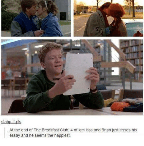 stahp it pis at the end of the breakfast club 4 of 2896515 ✅ 25 best memes about the breakfast club the breakfast club memes,Breakfast Club Memes