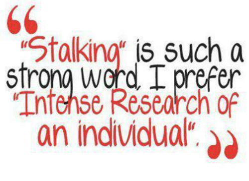 stalking research