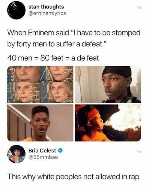 Stan Thoughts When Eminem Said I Have to Be Stomped by Forty