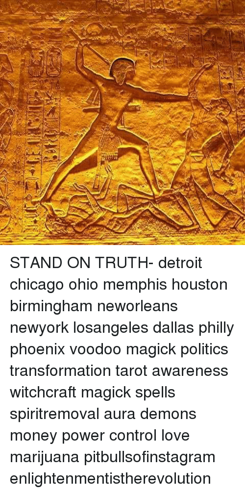 STAND ON TRUTH- Detroit Chicago Ohio Memphis Houston