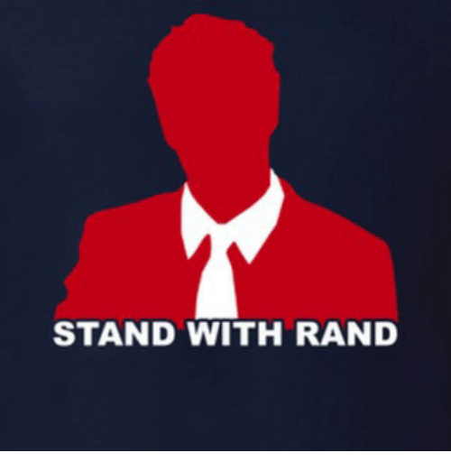 stand with rand meme on