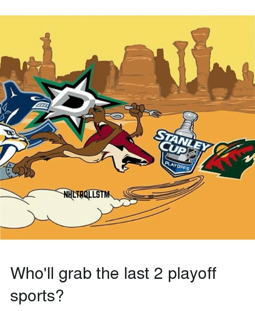 Stanley Cup Playoffs Aqilstm Who Ll Grab The Last 2 Playoff Sports