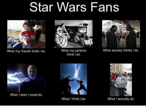 Star wars fans what society thinks ido what my parents what my memes and star war star wars fans what society thinks ido maxwellsz