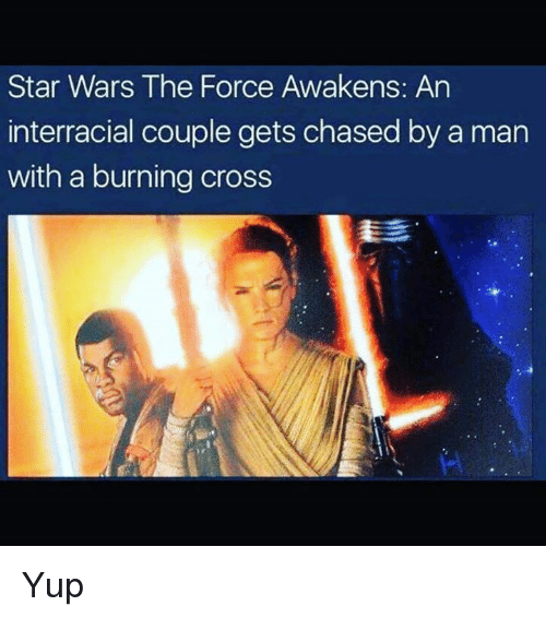star wars the force awakens an interracial couple gets chasedby 8134010 ✅ 25 best memes about star wars the force awakens star wars,The Force Awakens Memes