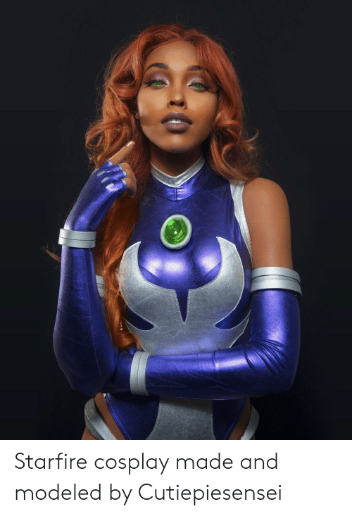 Cosplay, Starfire, and Made: Starfire cosplay made and modeled by Cutiepiesensei