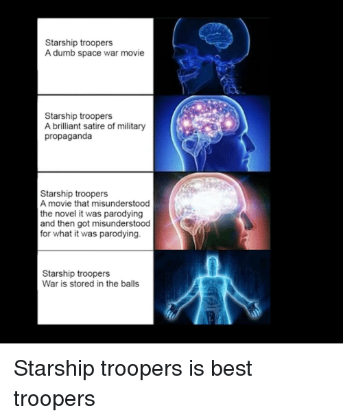 Starship Troopers A Dumb Space War Movie Starship Troopers A