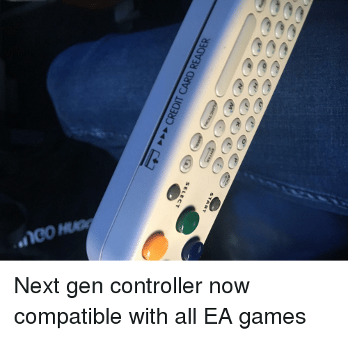 Games, Next, and Ea Games: START  SELECT Next gen controller now compatible with all EA games