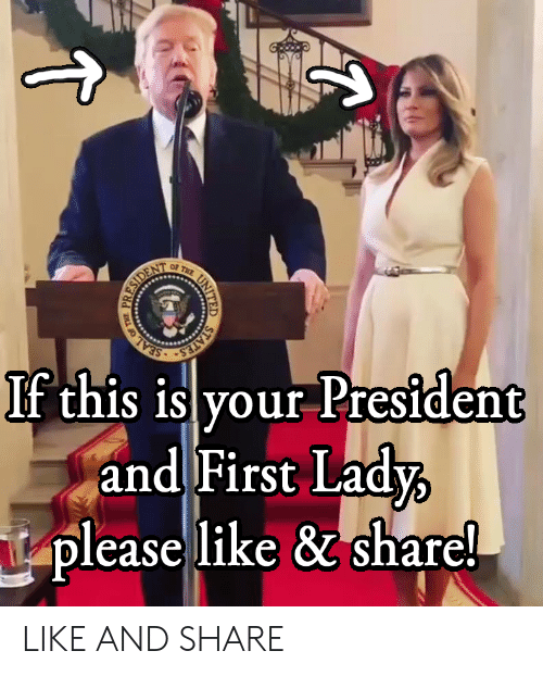 Seal, United, and Terrible Facebook: STATES  If this is your President  and First Lady  please like & share!  SEAL  PR  ESIDEN  (ti  UNITED LIKE AND SHARE