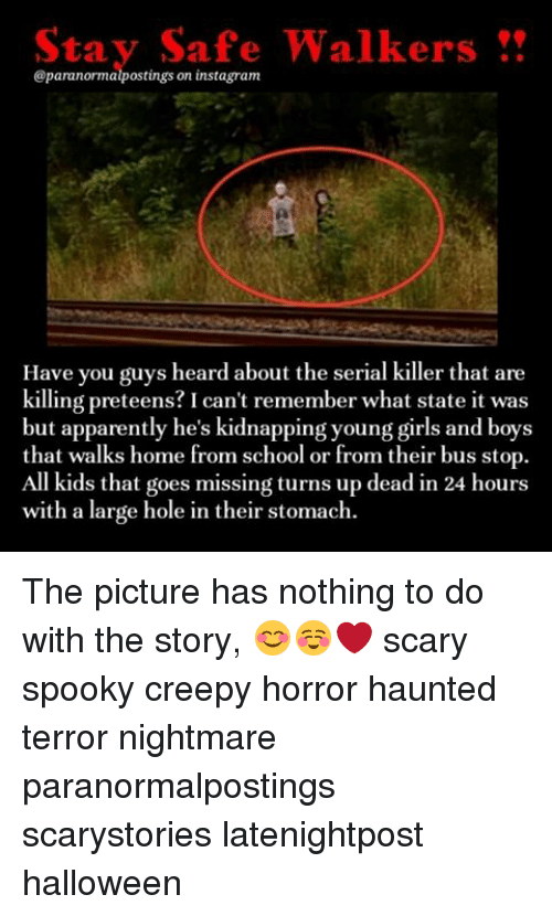 Stay Safe Walkers on Instagram Have You Guys Heard About the