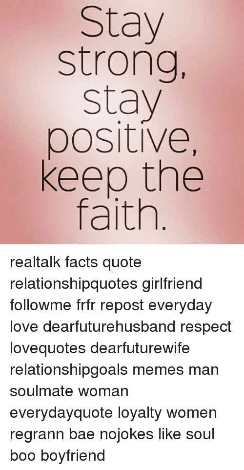 stay positive in relationship