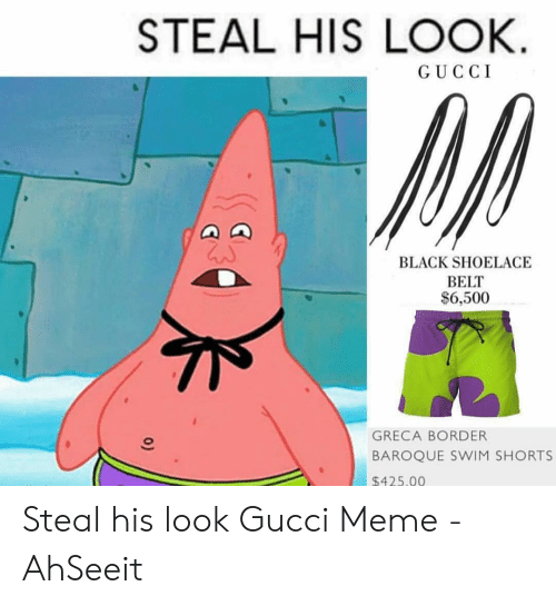 2f569234a Gucci, Meme, and Black: STEAL HIS LOOK GUCCI BLACK SHOELACE BELT $6,500  GRECA