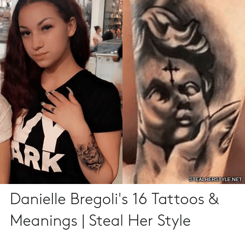 Tattoos, Her, and Net: STEALHERS  NET Danielle Bregoli's 16 Tattoos & Meanings | Steal Her Style