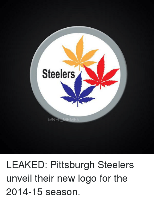 Steelers Con Leaked Pittsburgh Steelers Unveil Their New Logo For