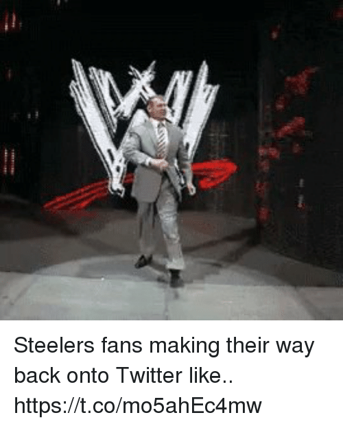 Football, Nfl, and Sports: Steelers fans making their way back onto Twitter like.. https://t.co/mo5ahEc4mw