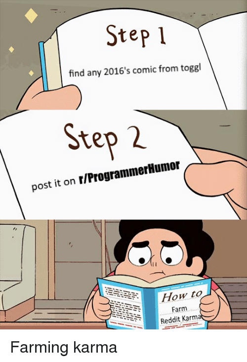 Step 1 Find Any 2016's Comic From Toggl Step 2 Post It on
