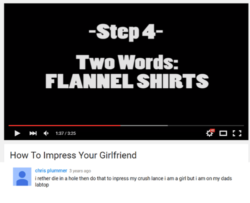 How to impress your girlfriend with words