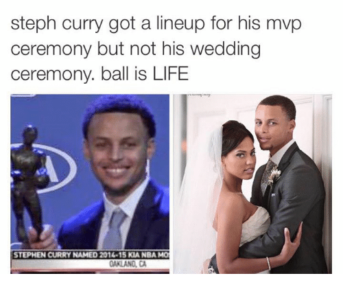 Steph curry got a lineup for his mvp ceremony but not his wedding mvp ball and balls steph curry got a lineup for his mvp ceremony junglespirit Gallery
