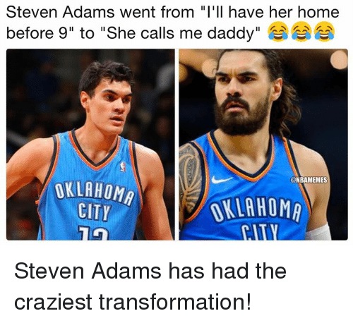 Jason Momoa Transformation: Steven Adams' Transformation From Rookie To Aquaman : Nba