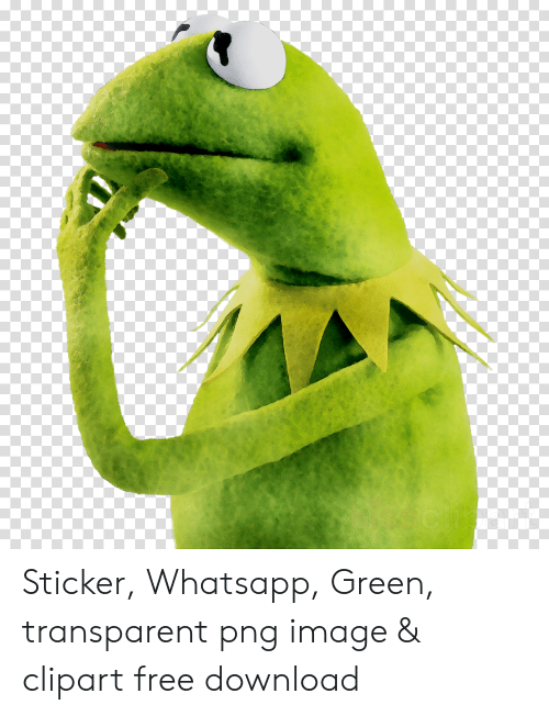 Sticker Whatsapp Green Transparent Png Image Clipart Free