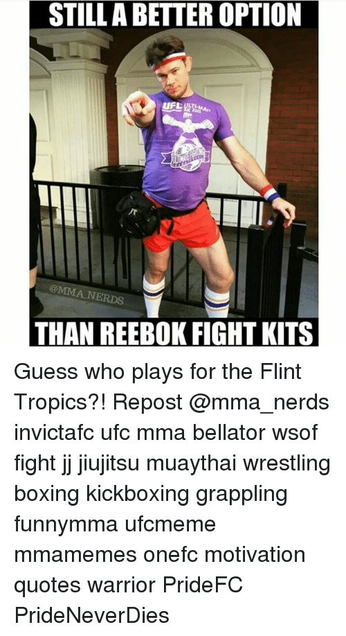 Boxing, Memes, and Reebok  STILLA BETTER OPTION THAN REEBOK FIGHT KITS Guess  who 7ebc53f25a05