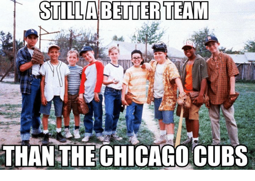 Chicago, Memes, and Chicago Cubs: STILLA BETTER TEAM  THAN THE CHICAGO CUBS