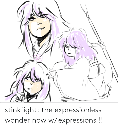 Target, Tumblr, and Blog: stinkfight:  the expressionless wonder now w/ expressions !!