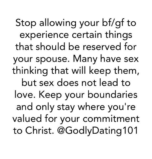 Memes And Spouse Stop Allowing Your Bf Gf To Experience Certain