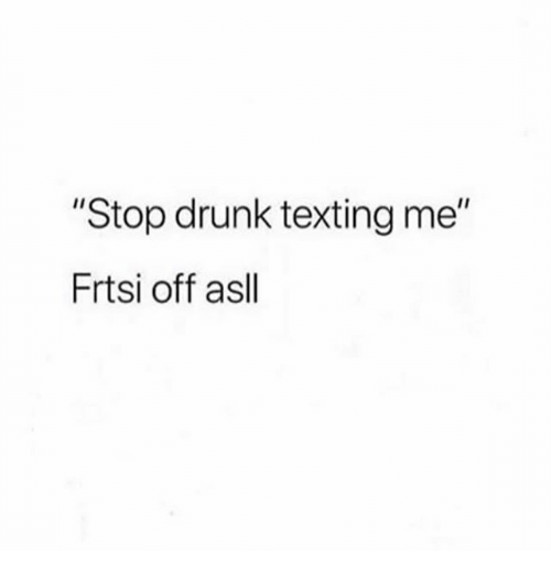 application to stop drunk texting