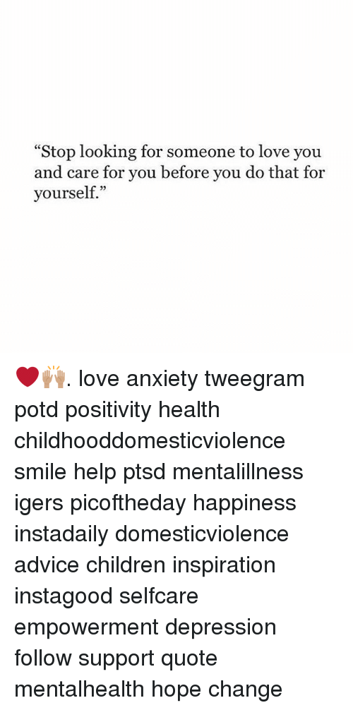 advice for someone with anxiety