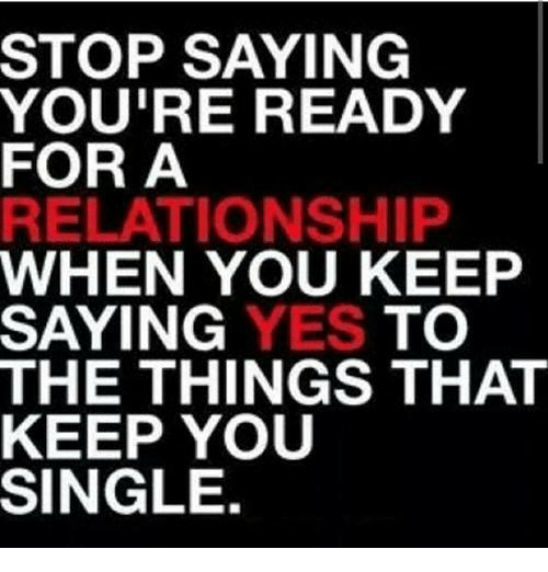 When are you ready for a relationship