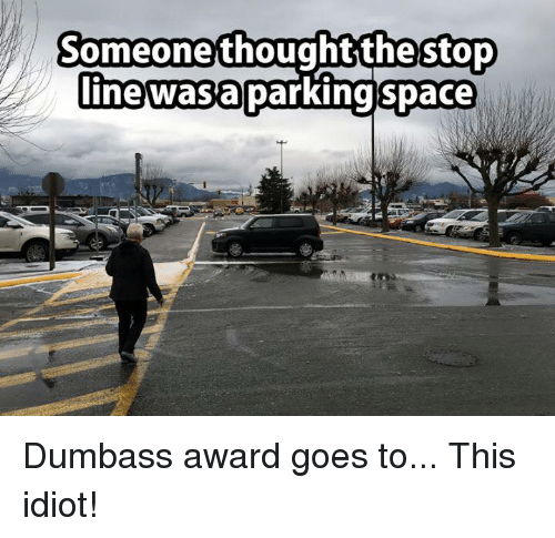 Golden dumb ass awards