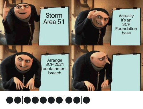 Storm Area 51 Actually It's an SCP Foundation Base Arrange
