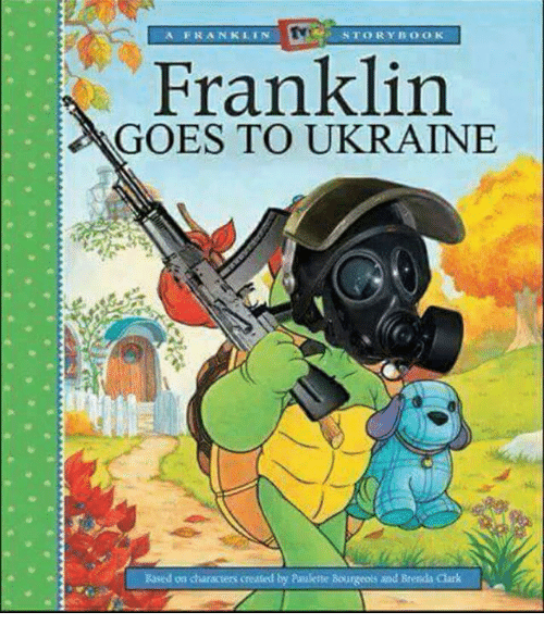 STORY BOOK a FRANKLIN Franklin GOES TO UKRAINE Based on Characters