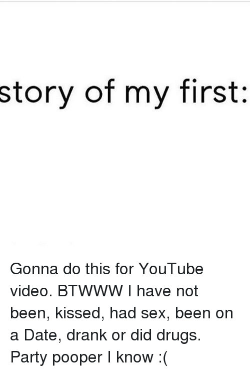 my first dating story