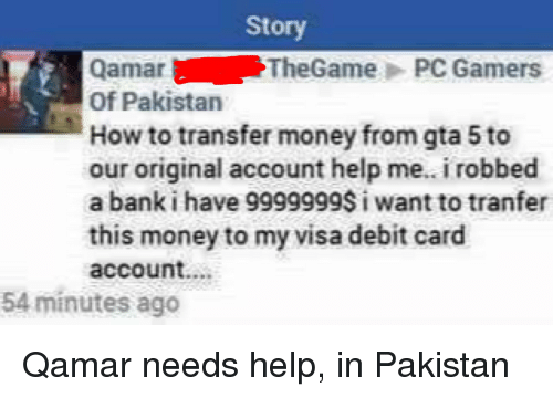 Money Bank And Gta 5 Story Qamar The Pc Rs Of Stan How