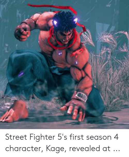 Street Fighter 5's First Season 4 Character Kage Revealed at