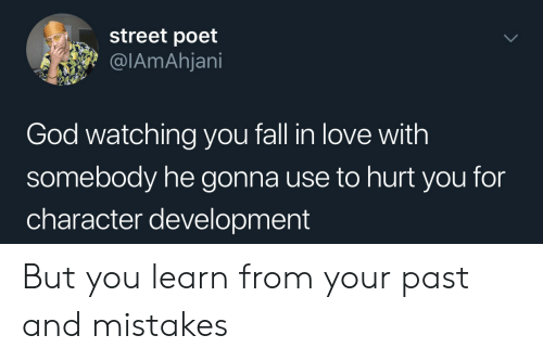 Street Poet God Watching You Fall in Love With Somebody He