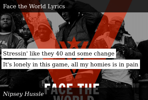 https://me me/i/face-the-world-nipsey-hussle-two-cs-on-my-bitch-shit