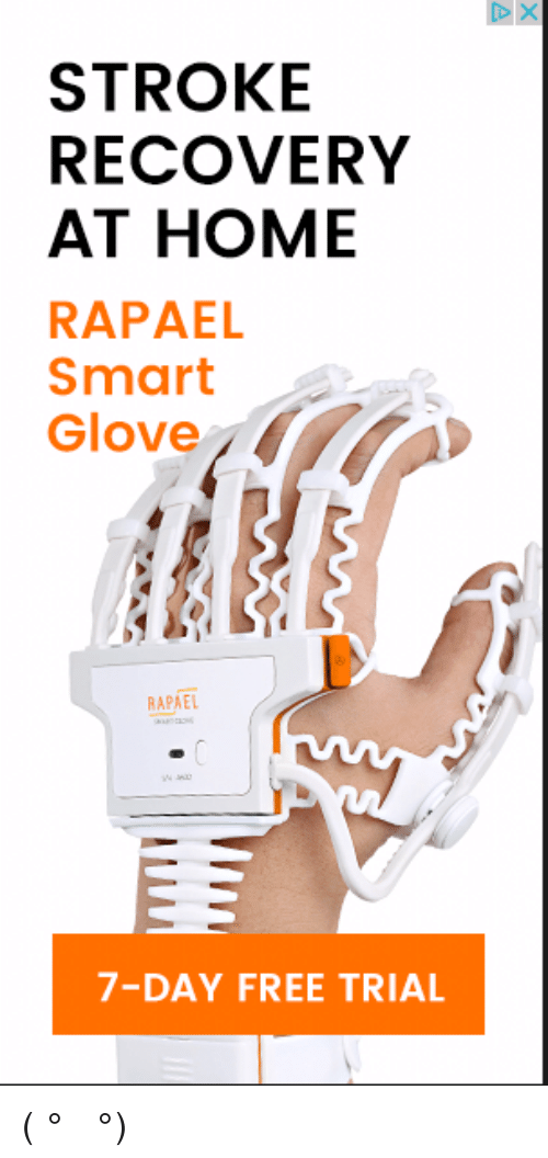STROKE RECOVERY AT HOME RAPAEL Smart Glove RAPAEL 7-Day FREE TRIAL