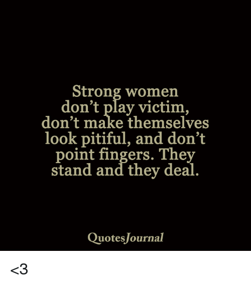 how to deal with people who play the victim