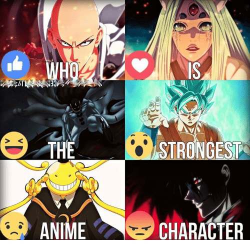 Strongest Anime Character